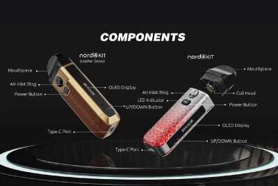 SMOK Nord 4 Components