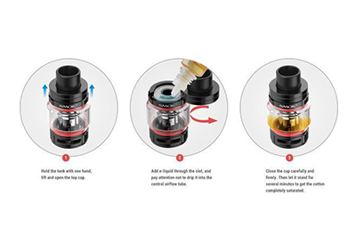 SMOK Rigel Tank How to Fill Instructions