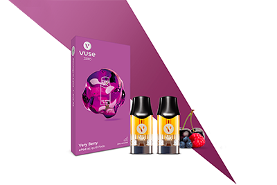 Vuse Very Berry Refillable Nic Salt Pods